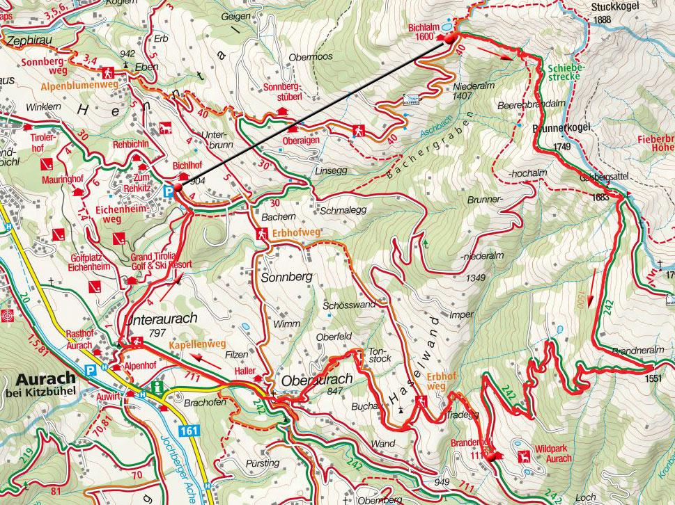 Wildpark-Runde bei Kitzbühel