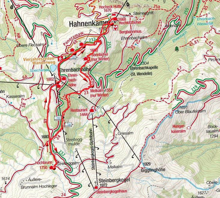 Hüttenrunde am Hahnenkamm bei Kitzbühel