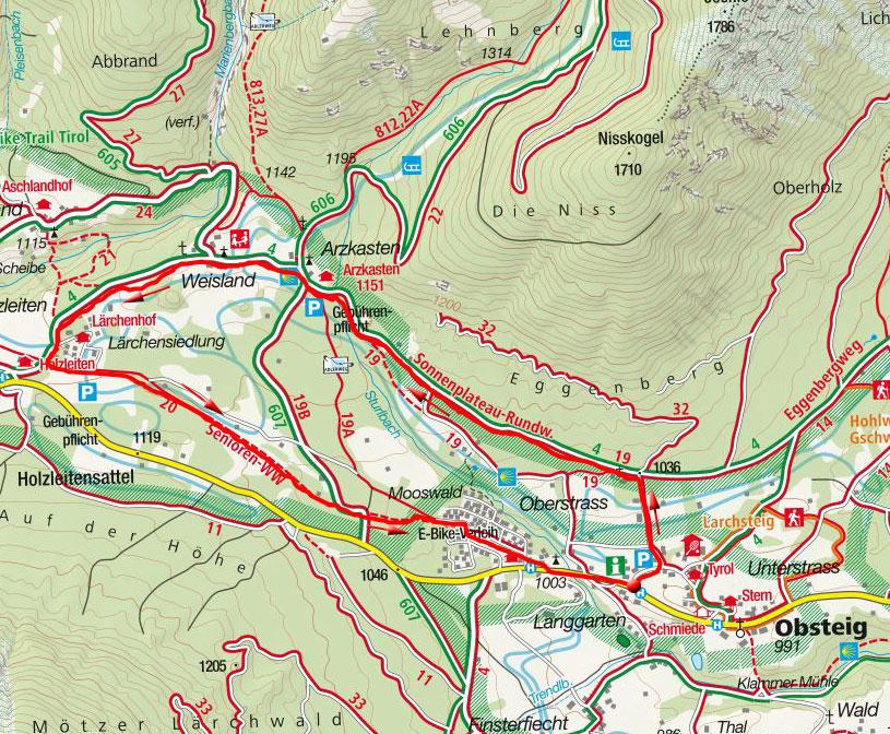 Obsteiger Rundwanderweg
