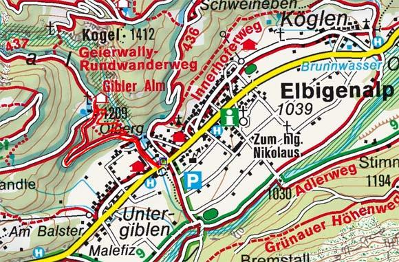 Gibler Alm von Elbigenalp