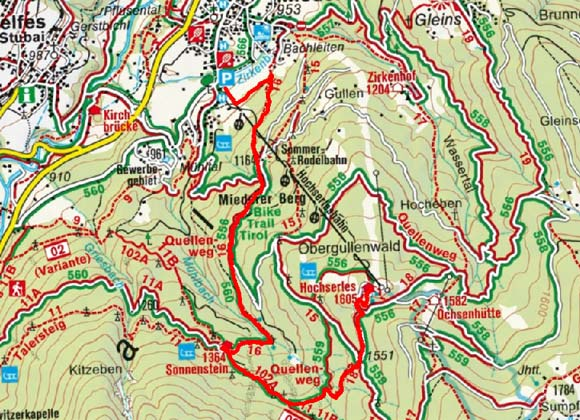 Alpengasthof Sonnenstein von Hochserles