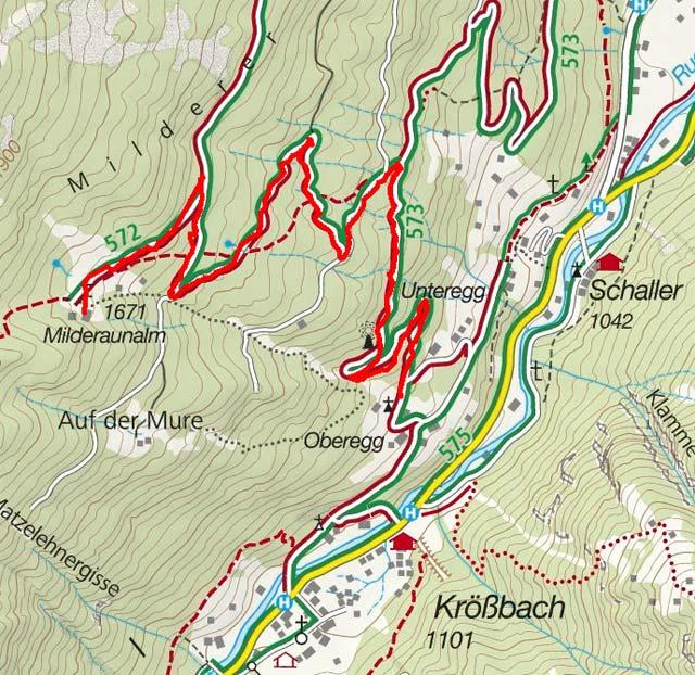 Milderaunalm von Oberegg/Krößbach