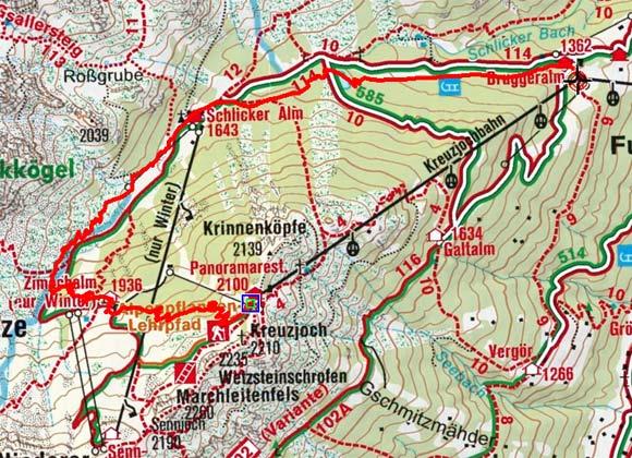 Naturlehrweg - Erlebnisweg Panoramasee Schlick