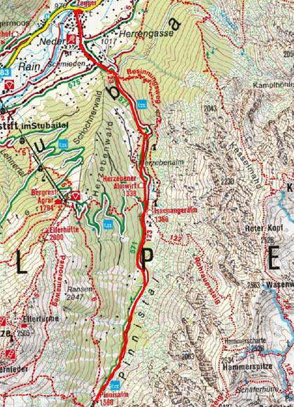 Pinnisalm, 1.560 m