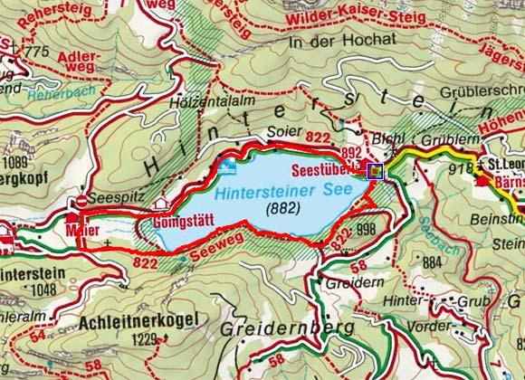 Hintersteiner See Rundwanderung