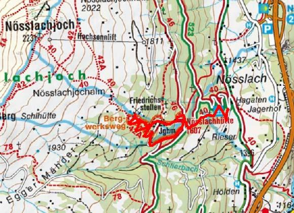 Bergwerksweg Nösslach