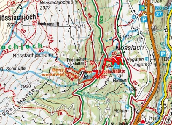 Nösslachhütte von Nösslach