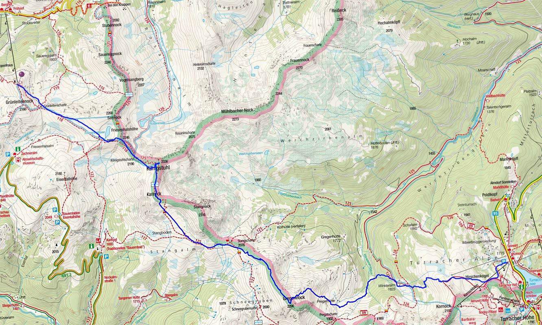 Etappe 2: Innerkrems - Turracher Höhe