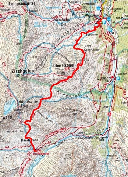 Sellrainer Hufeisentour (6 Etappen) - Tag 3