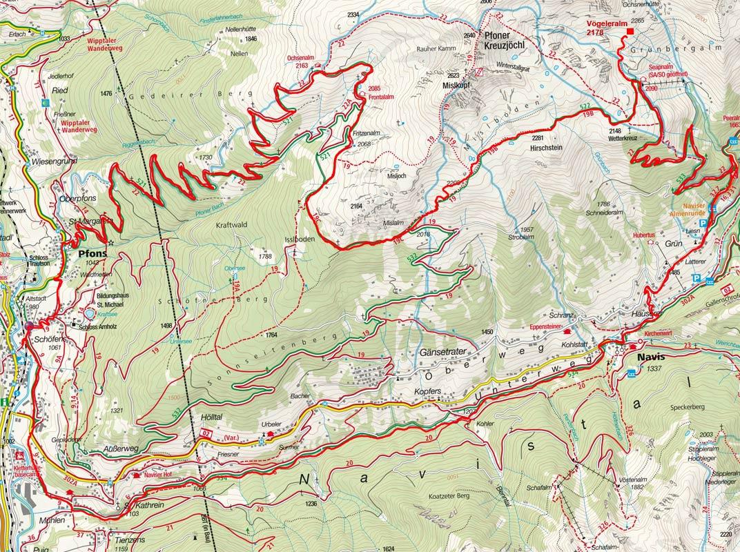 5-Almen-Rundfahrt im Navistal