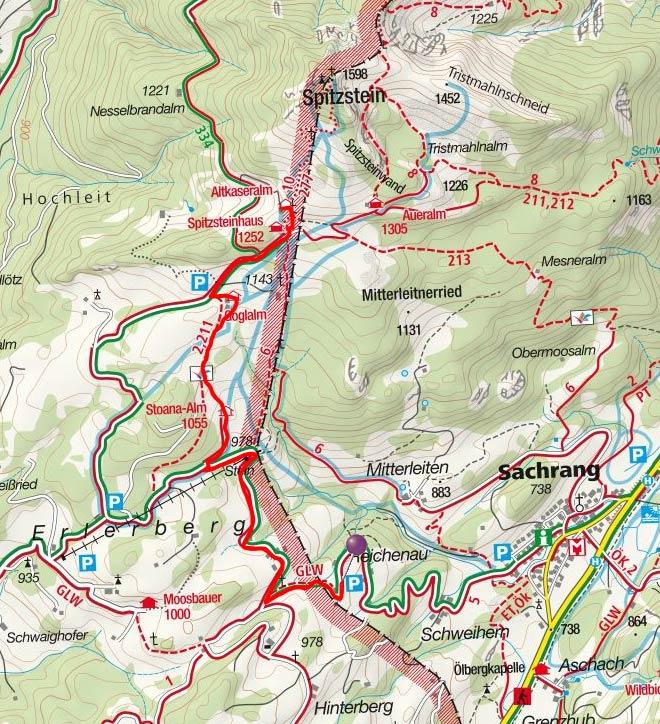 Altkaser Alm (1279 m) von Reichenau