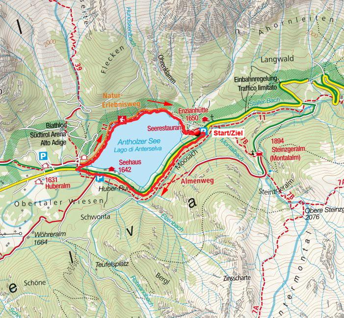 Seerundwanderung am Naturerlebnisweg Antholzer See