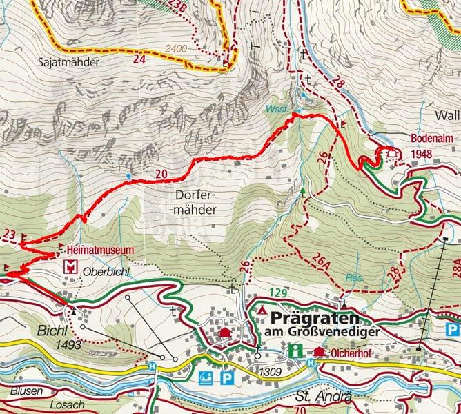 Bodenalm (1960 m) von Bichl/Prägraten