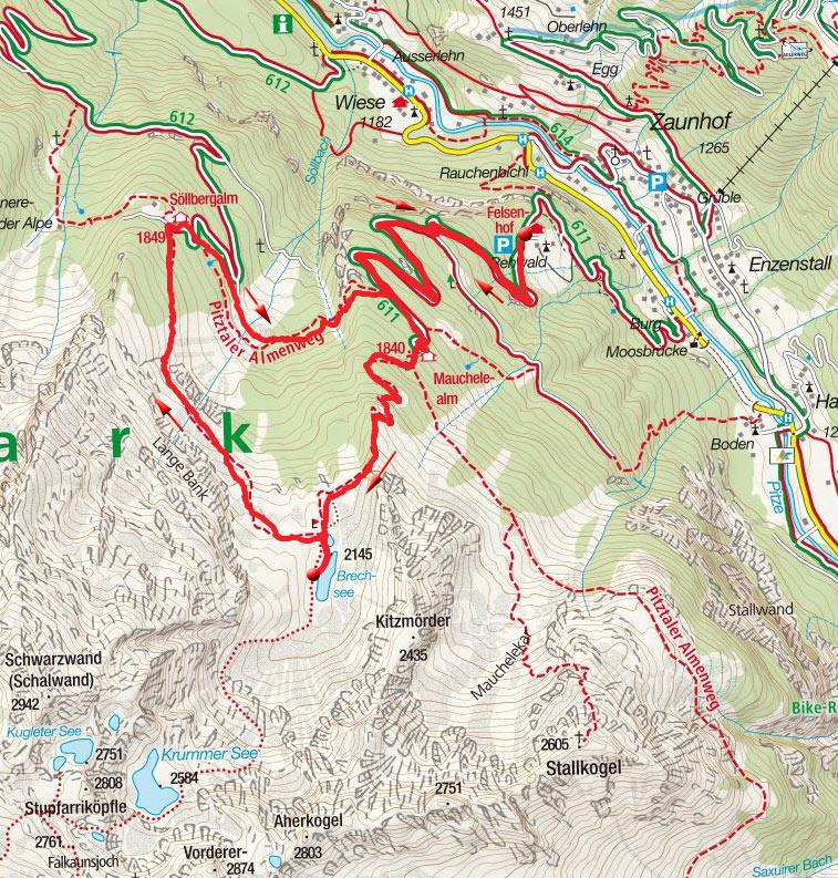 Brechsee – Rundwanderung vom Weiler Rehwald