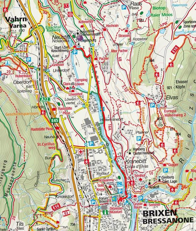 Vom Kloster Neustift nach Brixen zum Brixner Dom