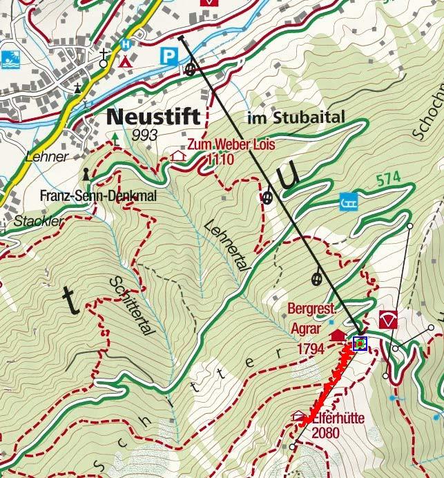 Tag 1: Elfer Bergstation - Elferhütte