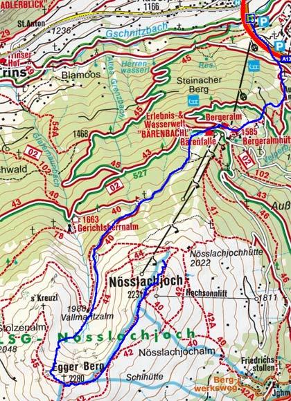 Nösslachjoch - Eggerberg Rundtour
