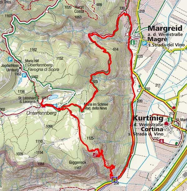 Fennberg-Klettersteig und Fennberger See