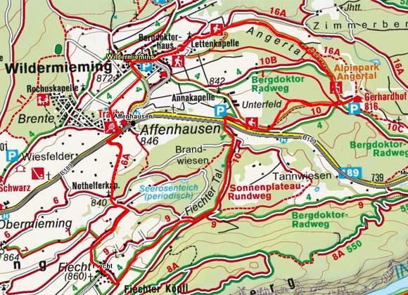 Fiecht – Wildermieming – Gerhardhof
