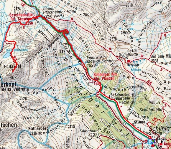 Föllakopf (2878 m) von Schlinig
