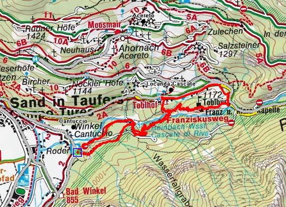 Franziskusweg - Reiner Wasserfälle - Tobelburg