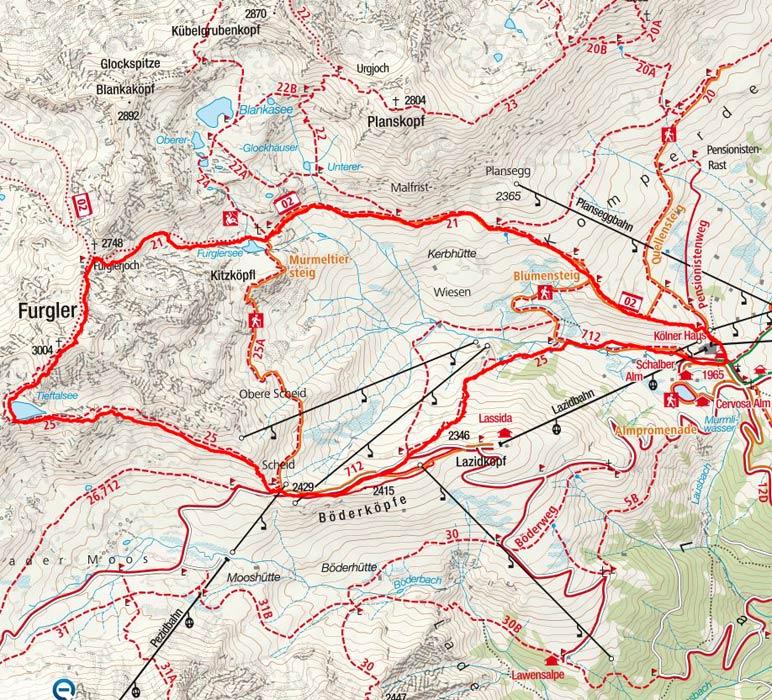 Furgler (3004 m) über das Furglerjoch