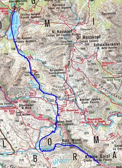 Kleine Gaisl-Croda Rossa Pizora (2859 m) vom Pragser Wildsee