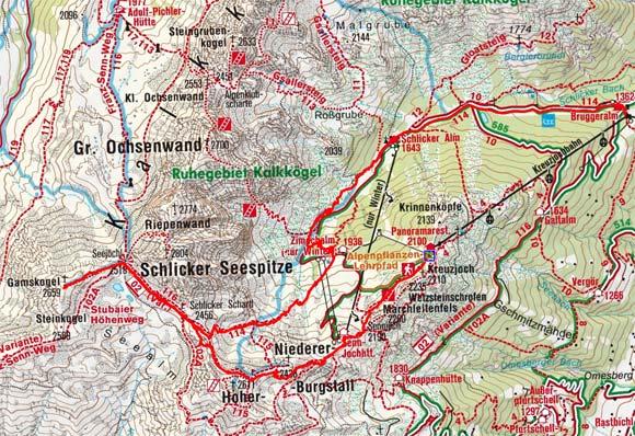 Gamskogel (2659 m) aus der Schlick-Kreuzjoch