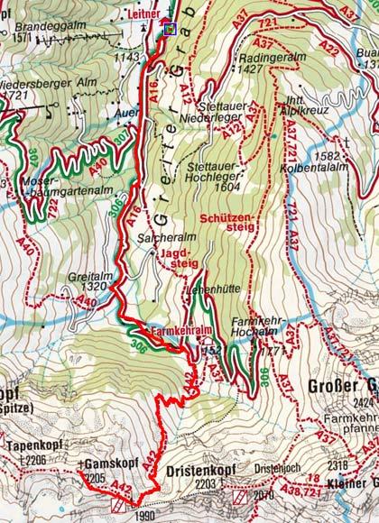 Gamskopf (2205 m) von Inneralpbach