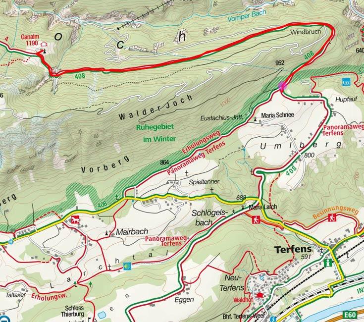 Ganalm (1190 m) von Umlberg