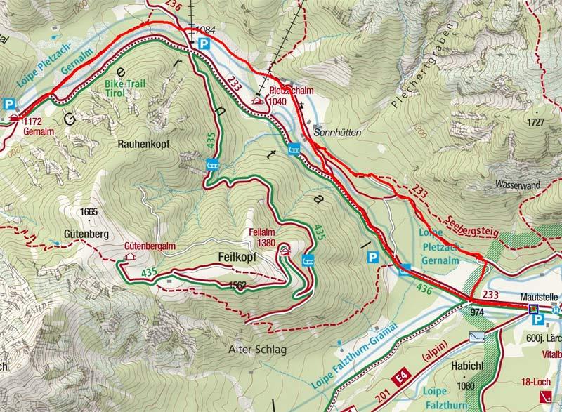 Gern Alm (1172 m) von Pertisau