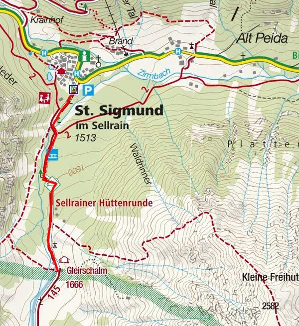 Gleirschalm von St. Sigmund