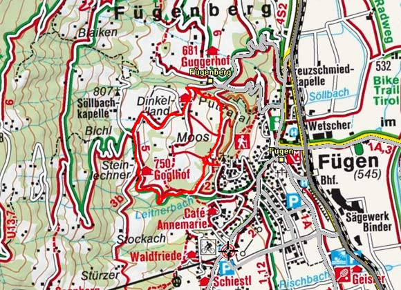 Fügen - Putzatal - Gasthaus Goglhof