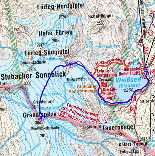 Granatspitze (3086 m) von der Rudolfshütte