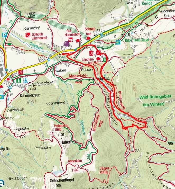 Grießbachklamm-Rundwanderung bei Erpfendorf