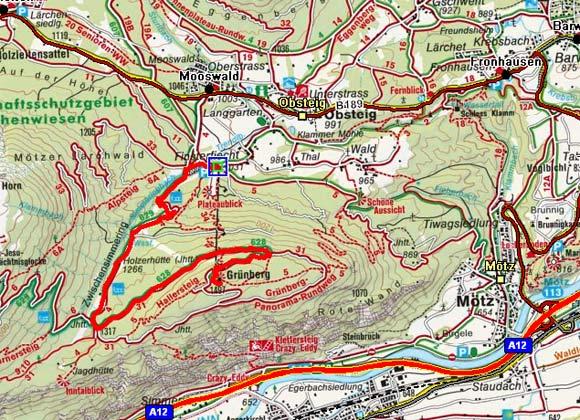 Grünberg Alm - Zwischensimmering - Grünberg