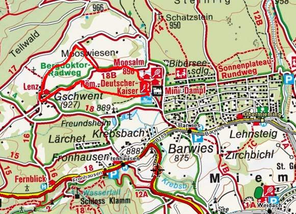 Gschwent - Mooswiesen Rundwanderung