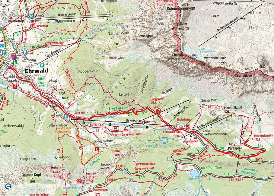 Hochfeldernalm von Ehrwald