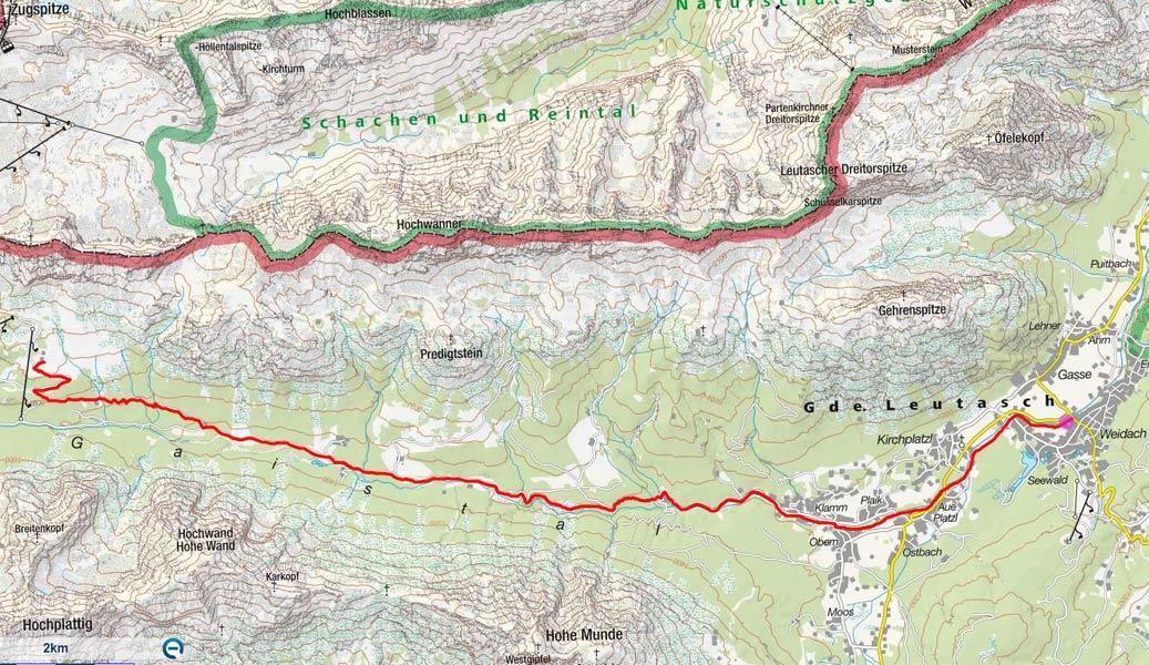 Hochfeldernalm von Leutasch-Weidach