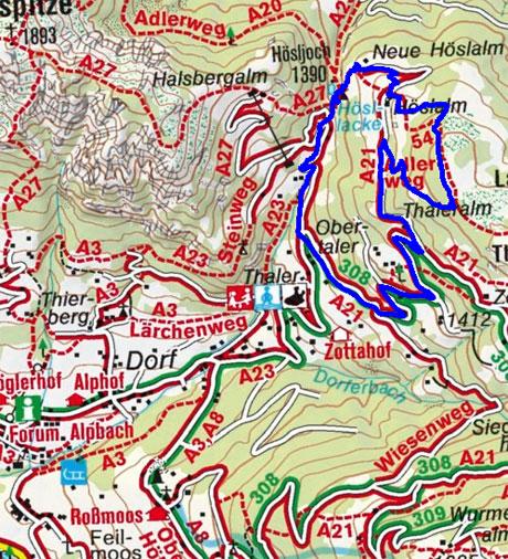 Hösljoch im Alpbachtal