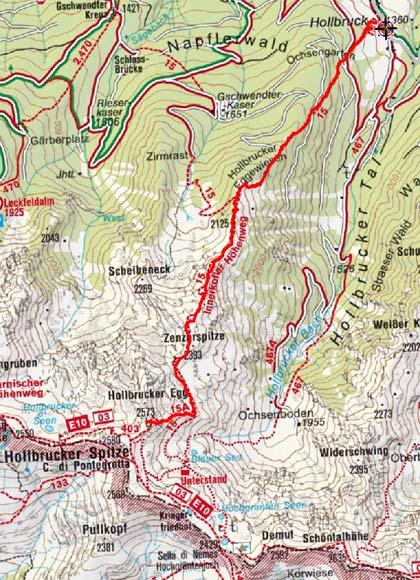 Hollbrucker Spitze (2573 m) von Hollbruck