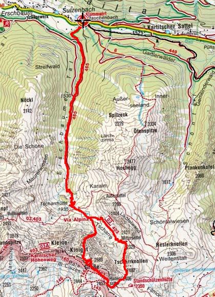 Großer Kinigat, 2689 m