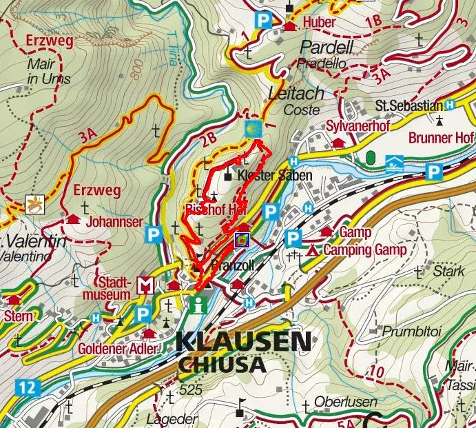 Kloster Säben von Klausen