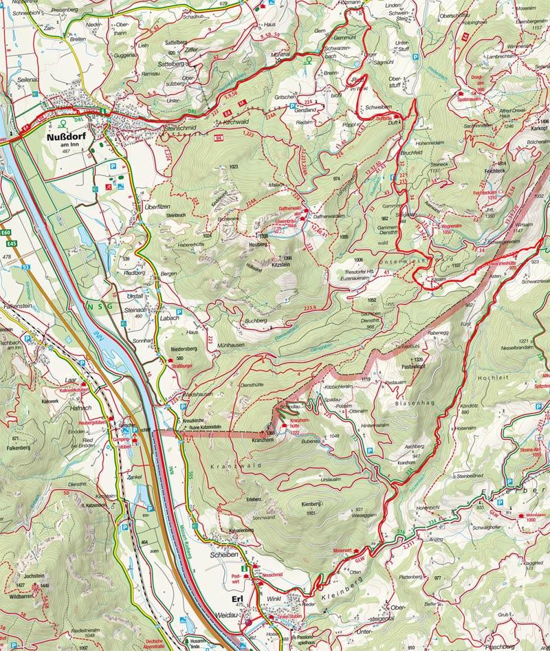 Samerberg –  Hochries - Trockenbachtal Runde von Erl