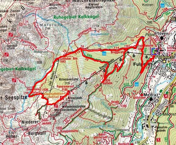 Kreuzjoch-Kalkkögelblick Tour, Stubaital