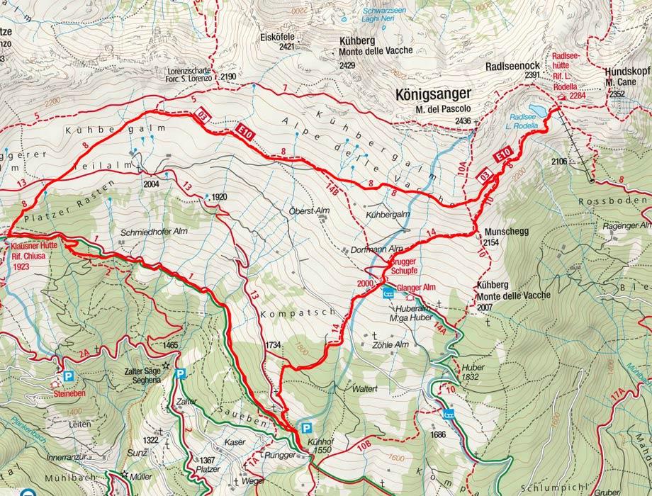 Latzfonser Höhenweg