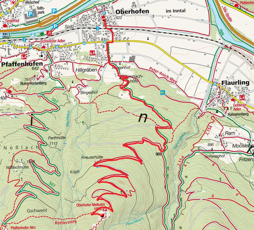 Oberhofer Melkalm von Oberhofen