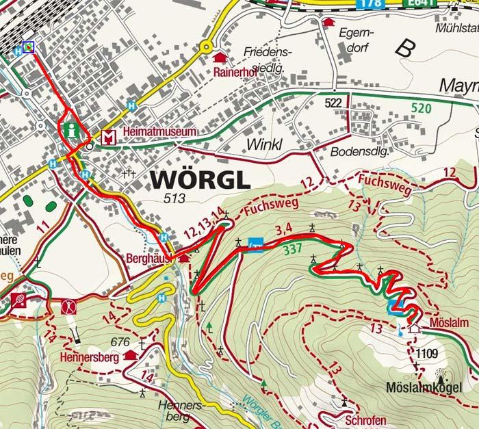 Möslalm von Wörgl