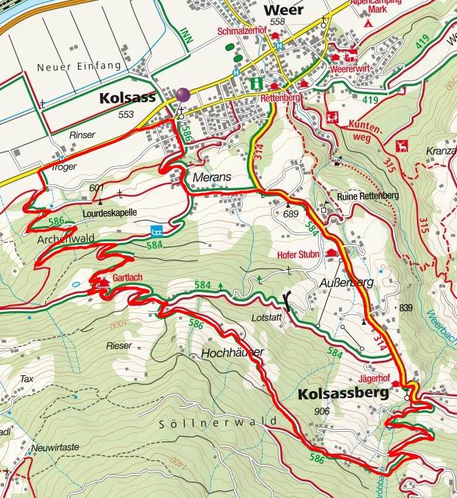Panoramarunde Kolsassberg