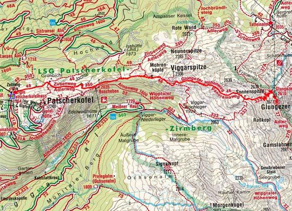 Tag 1: Patscherkofel - Viggarspitze - Glungezerhütte